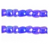 3 Cut Beads 10/0 Transparent Iris Navy Blue